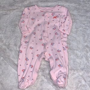 Carter's floral footie (3 for $10)
